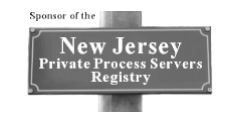 New Jersey Private Process Server Registry